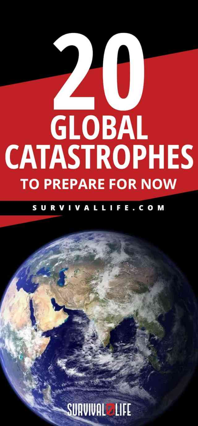 Placard | Global Catastrophes To Prepare For NOW