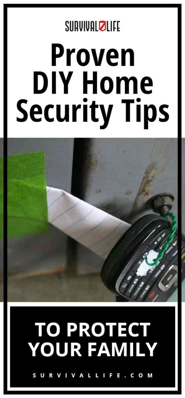 Placard | Home security tips | Proven DIY Home Security Tips To Protect Your Family