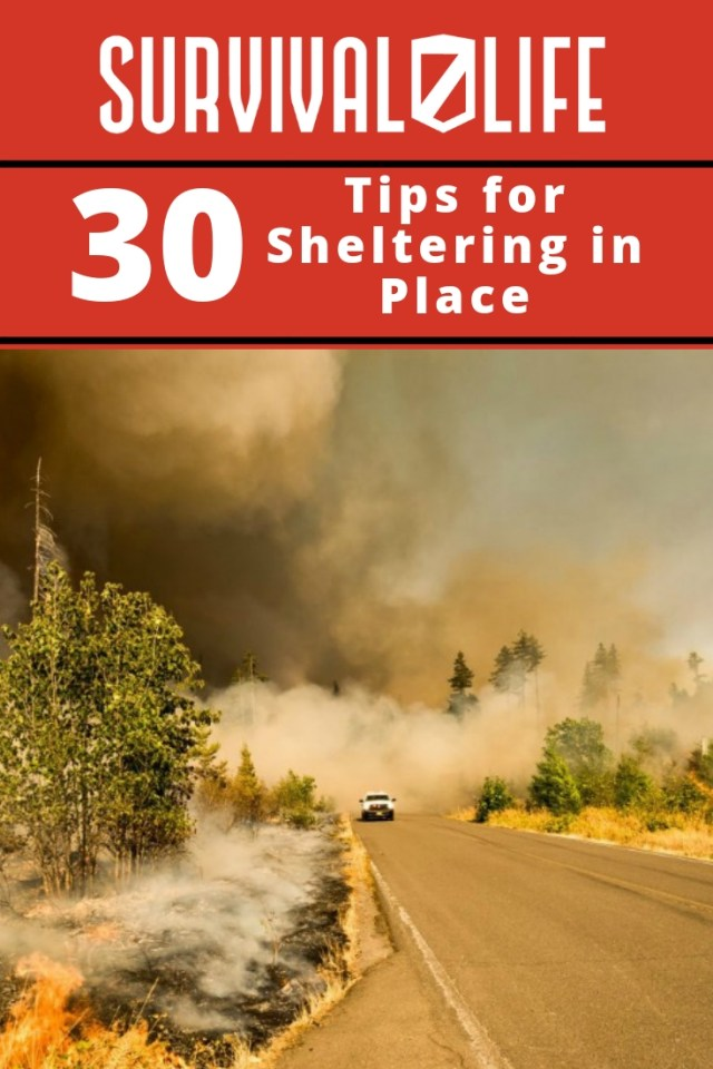 Placard | Sheltering in place | Tips For Sheltering In Place