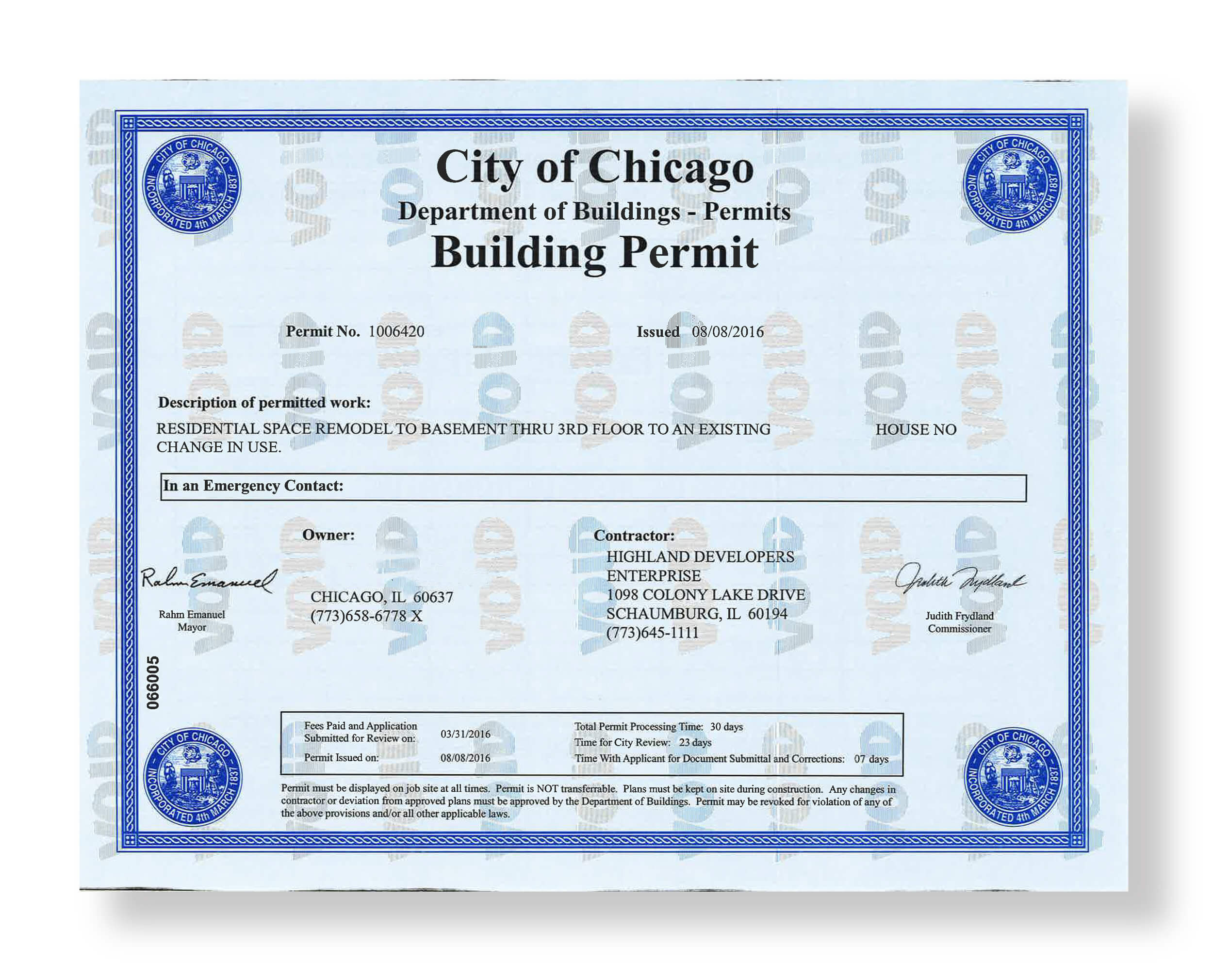 How To Apply For A General Contractor License In Chicago