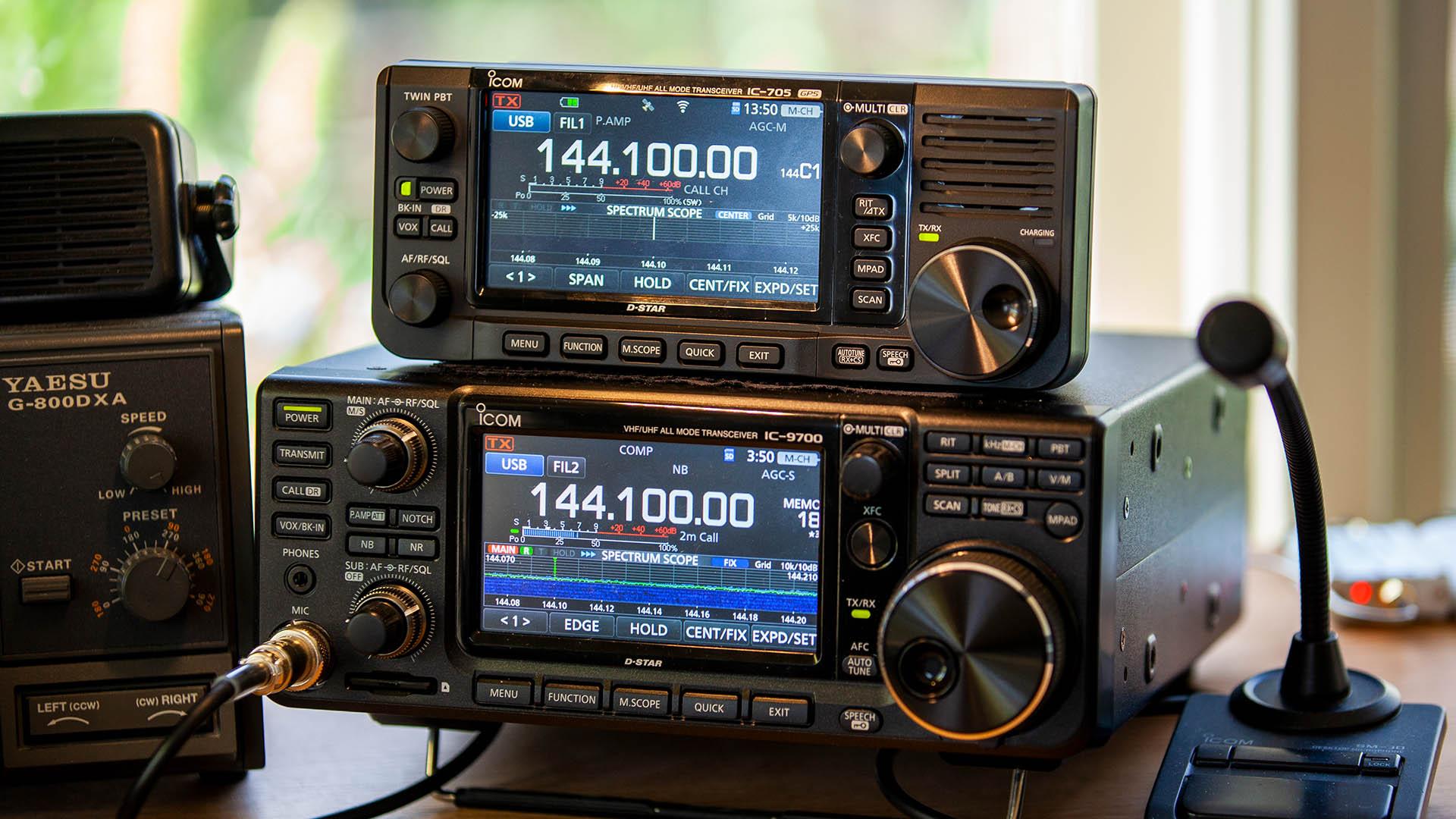 Icom IC-705 All Mode Transceiver review