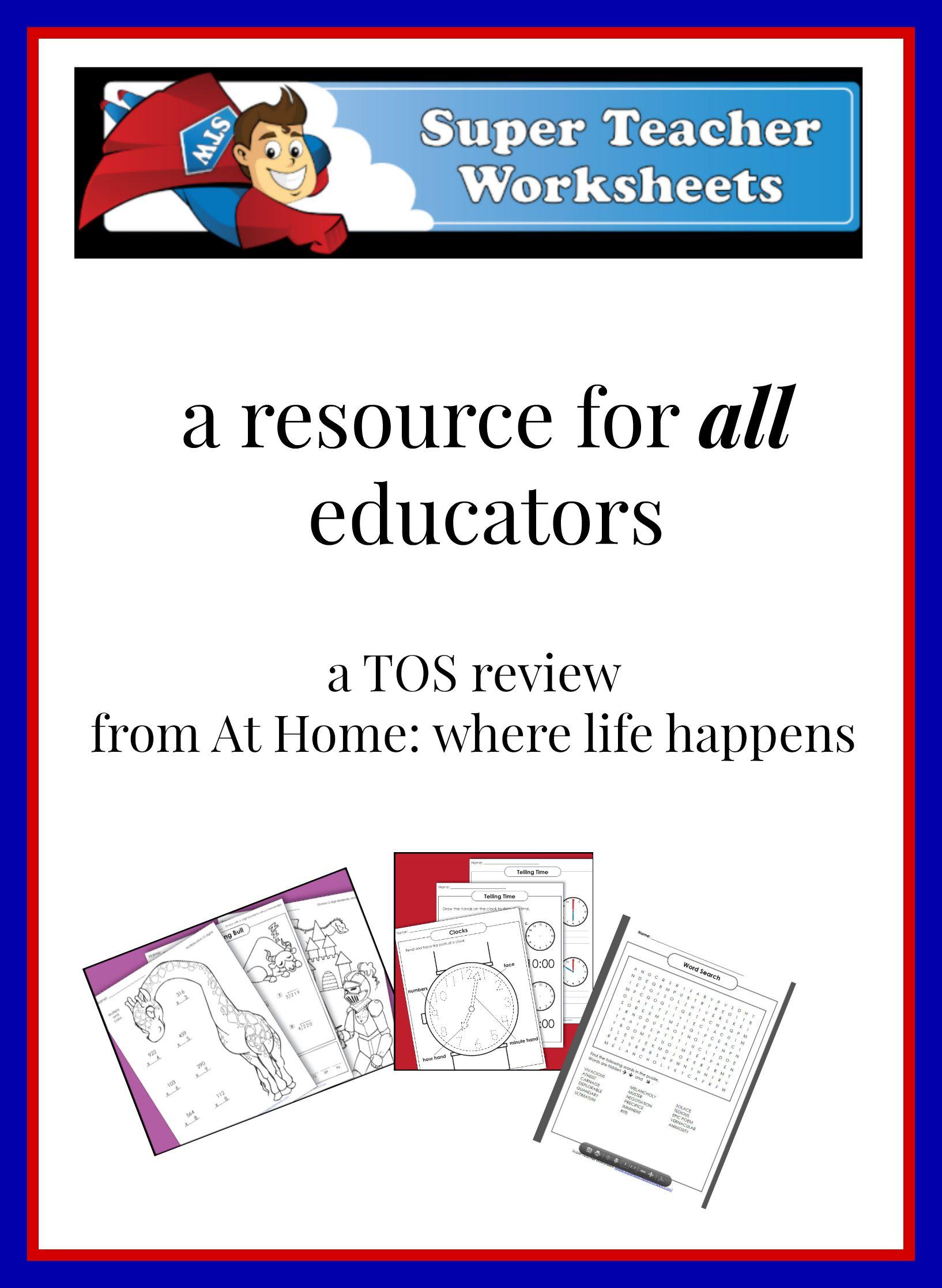 Super Teacher Worksheet Seasons
