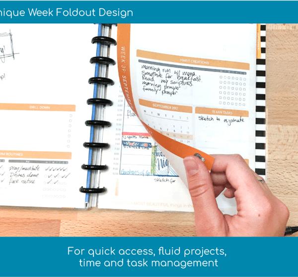 3G Flux Planner Foldout Design