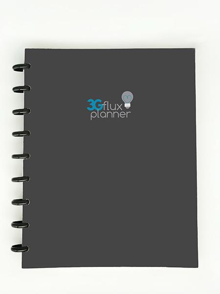 3G Flex Planner Gray Cover