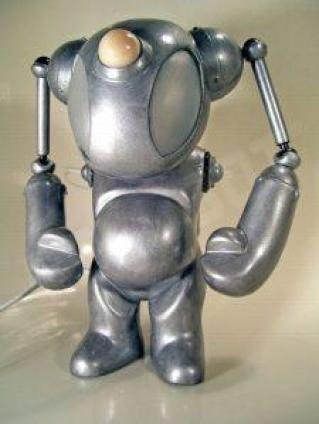 robot art by mike slobot space ace 7 custom Jouwe