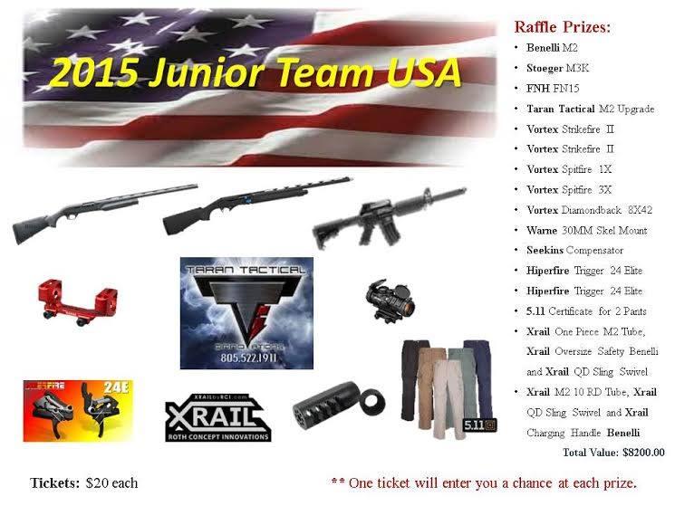 IPSC Shotgun World Shoot USA Junior Team