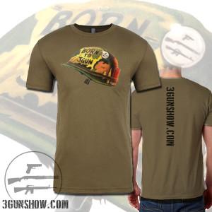The 3-Gun Show Born to 3Gun Shirt