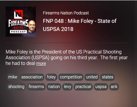 mike foley on firearms nation podcast