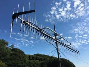 日本アンテナ 地上デジタル放送用UHF高性能型アンテナ 27素子 AU27AX 中間市にて