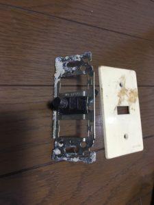 旧型アンテナコンセントは交換しましょう。 八幡西区にて