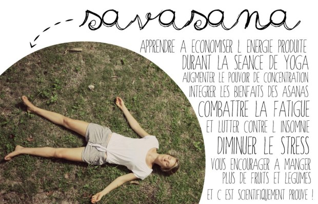 Savasana bienfaits