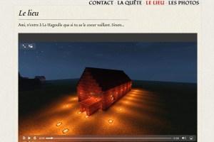 Website pour soirée de rallye