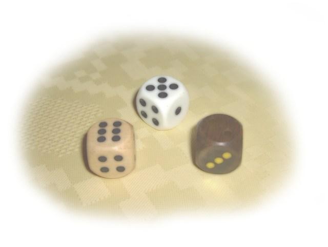 gamification hasard dés à jouer