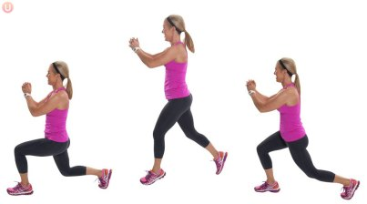 Image result for Power Lunge