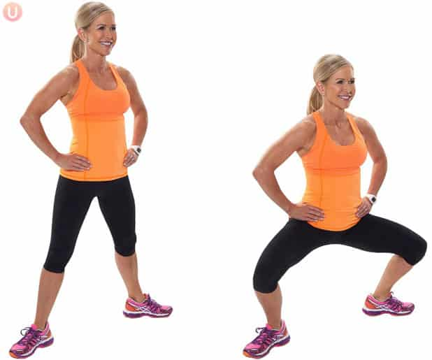 how to do plie squats