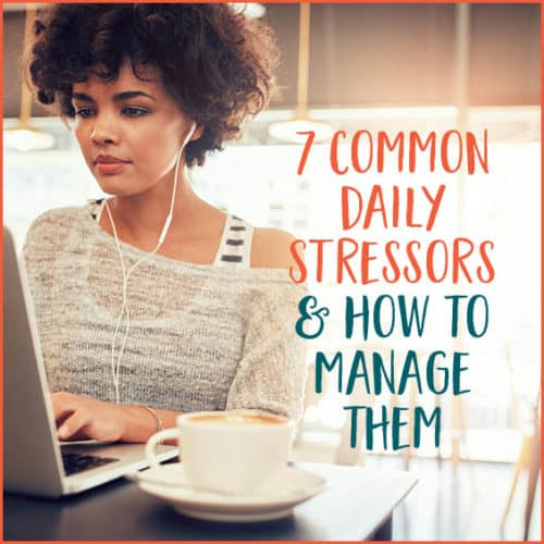 Life is full of stress; here's how to manage it