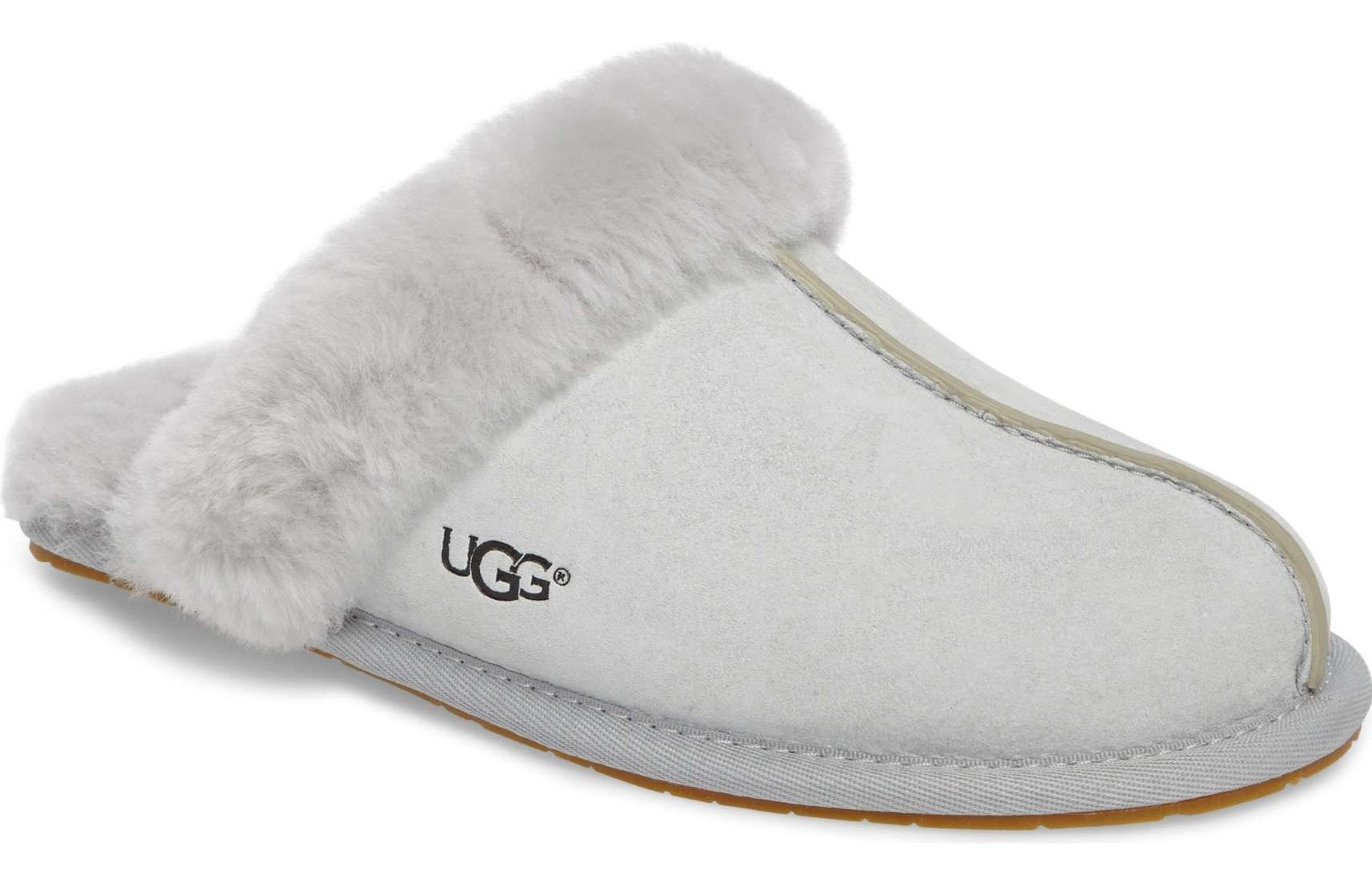 86b9b08f905c Christmas Gift for Wife 2017  Grey Ugg Slippers For Her 2018