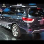 2013 Nissan Pathfinder: 2012 Detroit