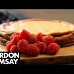 Baked Raspberry and Lemon Cheesecake – Gordon Ramsay