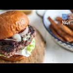 Festive Venison Burgers and Chips | Big Night In