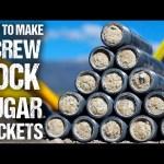 "How To Make ""Screw-Lock"" Sugar Rockets"