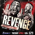 Jeff Hardy challenges Eric Young to Six Sides of Steel at Revenge!