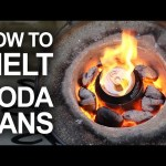 Melting Cans With The Mini Metal Foundry