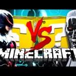 Minecraft: TERMINATOR LUCKY BLOCK CHALLENGE   ANDROIDS!!