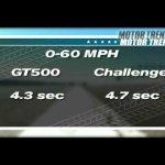 Muscle Car Showdown! Challenger SRT8 Vs. Shelby GT500