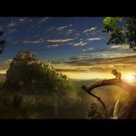 Sunset Castle – Speed art (#Photoshop) | CreativeStation