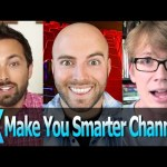 Top 10 YouTube Make You Smarter Channels  –  TopX Ep.13