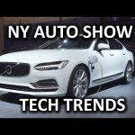 Top Tech Trends from the New York International Auto Show
