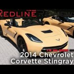 2014 Chevrolet Corvette Stingray – Redline: First Drive
