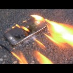 Burning a New iPhone 5 with Gasoline – Will it Survive?