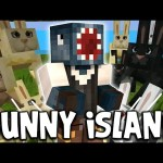 Minecraft – TIME TRAVELLERS! – BUNNY ISLAND! #6 W/Stamps & Ash!