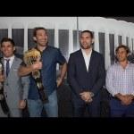 UFC 199: Rockhold, Weidman, Cruz & Faber Visit 'Fabulous' Forum