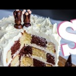 How to make a Checkerboard Cake Recipe – Homemade by SORTED