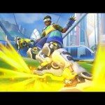 6 Minutes of Overwatch's New Rocket League Mode