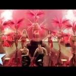 Burlesque act Crazy Rouge put on a glitzy show | Britain's Got Talent 2014