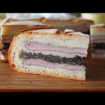 Shooter's Sandwich – Pressed Steak & Mushroom Sandwich – Great for Tailgating, Hunting & Picnics