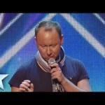DJ Allan Turner-Ward spins the wheels of steel | Britain's Got Talent 2014
