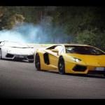 Lamborghini Aventador challenge 4: The Snake handling challenge