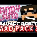 Minecraft: Mad Pack 3 Beta | CANDYLAND GINGERBREAD MAN [5]