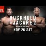 UFC Fight Night: Rockhold vs Jacare 2