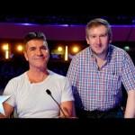 Simon Cowell's singing namesake does Diana Ross | Britain's Got Talent 2014