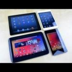 Nexus 10 vs iPad 4 vs Nexus 7 vs iPad mini Speed Test