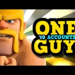 We Got Beat by ONE PLAYER on 40 ACCOUNTS in Clash of Clans