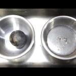 Super Cooled Nickel Ball in Mercury