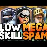 MEGA KNIGHT BRIDGE SPAM | New Low Skill Cap Deck 😱