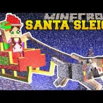 Minecraft: TRAPPED ON SANTA'S SLEIGH! – FIND THE BUTTON CHRISTMAS RAGE – Custom Map